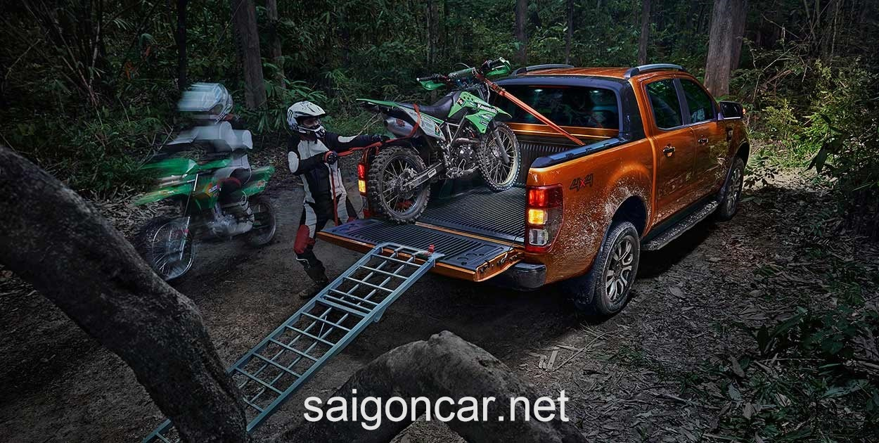 Ford Ranger Duoi Cam