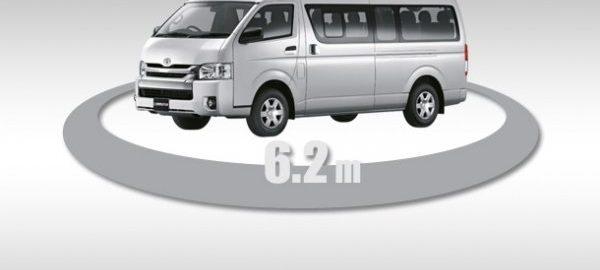 Toyota Hiace Ban Kinh Vong Quay