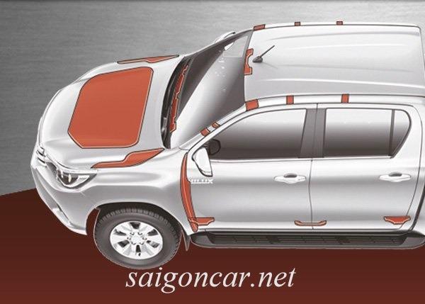 Toyota Hilux Khung Goa