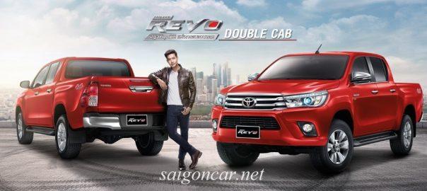 Giá xe Toyota Hilux 2020 bán tải nhập khẩu ưu đãi khủng