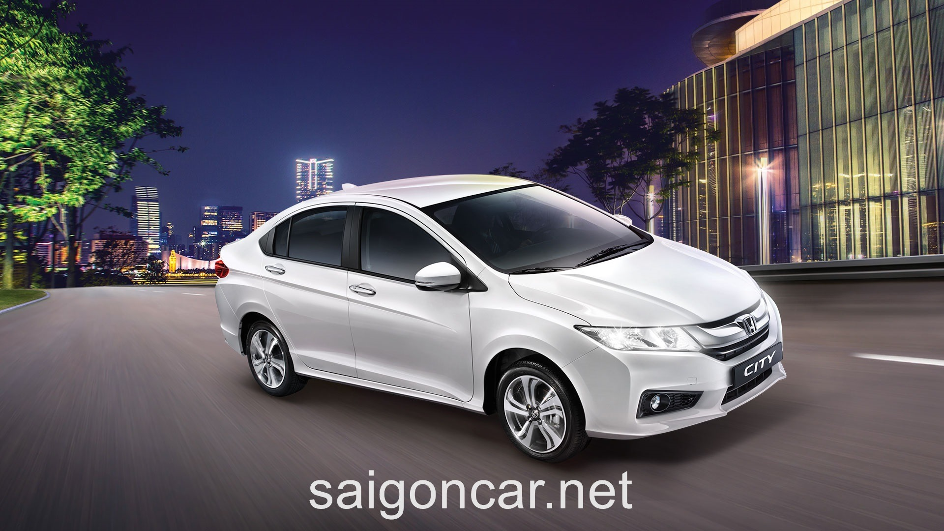 Honda City Hong Phai