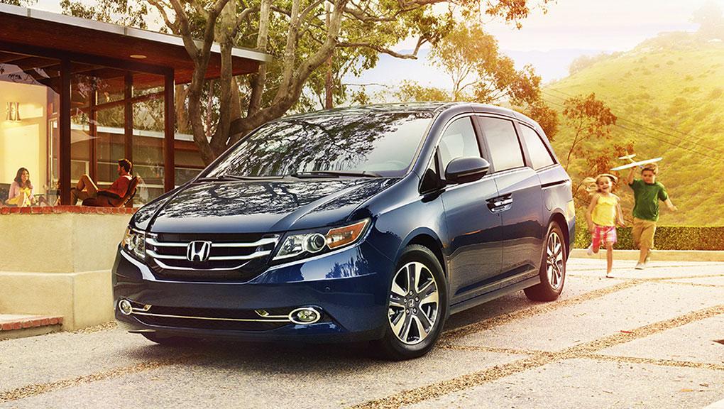 Honda Odyssey Dau Xanh