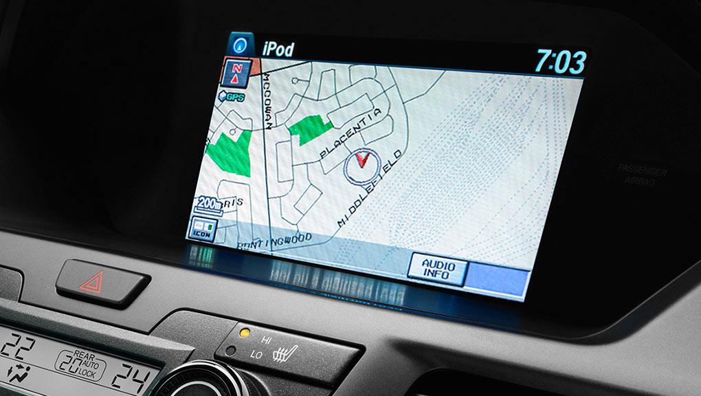 Honda Odyssey Map