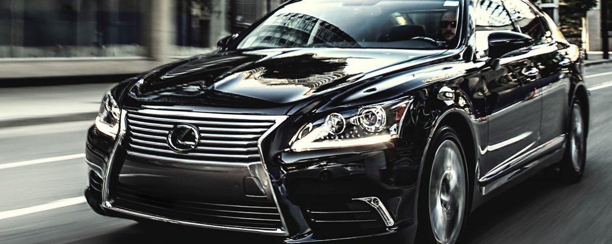 Lexus LS 460 Dau Den