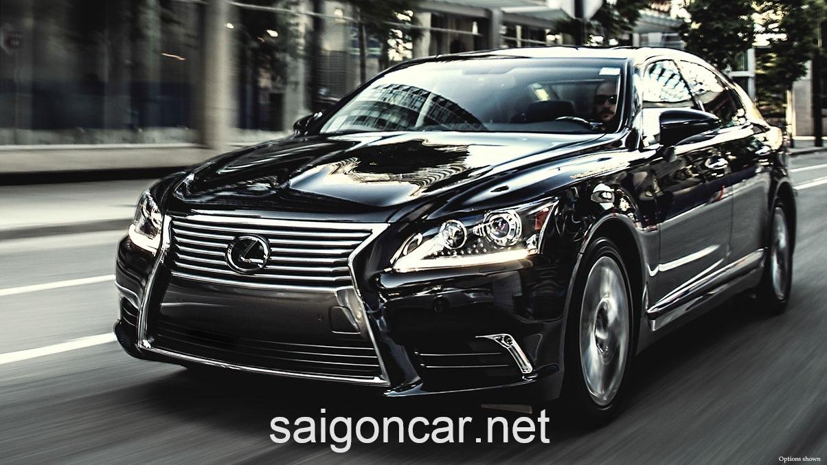 Lexus LS 460L Dau Den