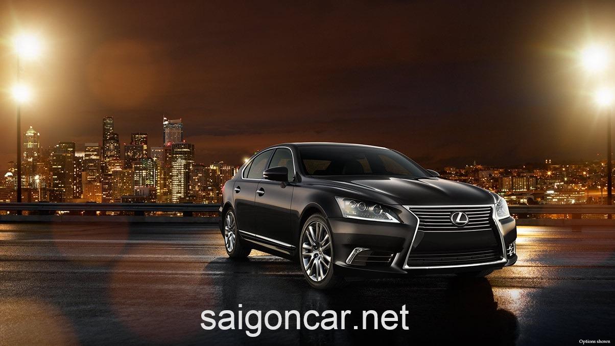 Lexus LS 460L Hong Xe Den