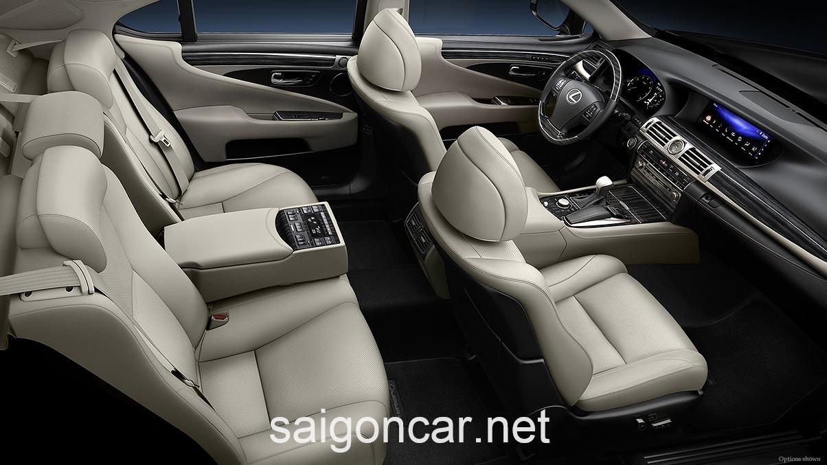 Lexus LS 460L Noi That