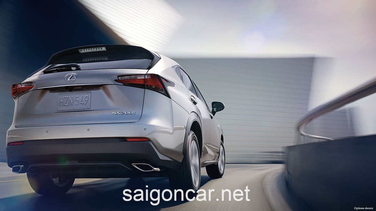 Lexus NX 200T Den Sau
