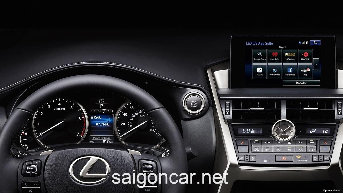 Lexus NX 200T Dong Ho