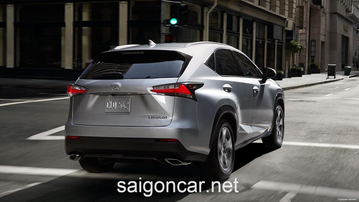 Lexus NX 200T Duoi Xe Bac