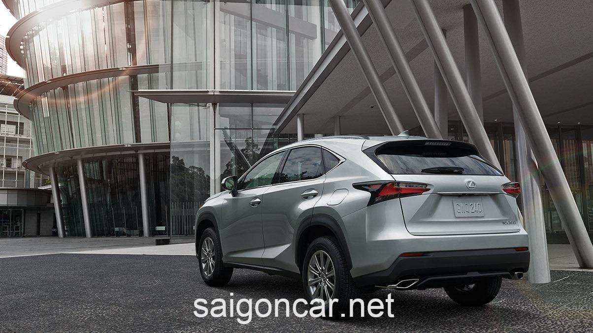 Lexus NX 200T Duoi Xe