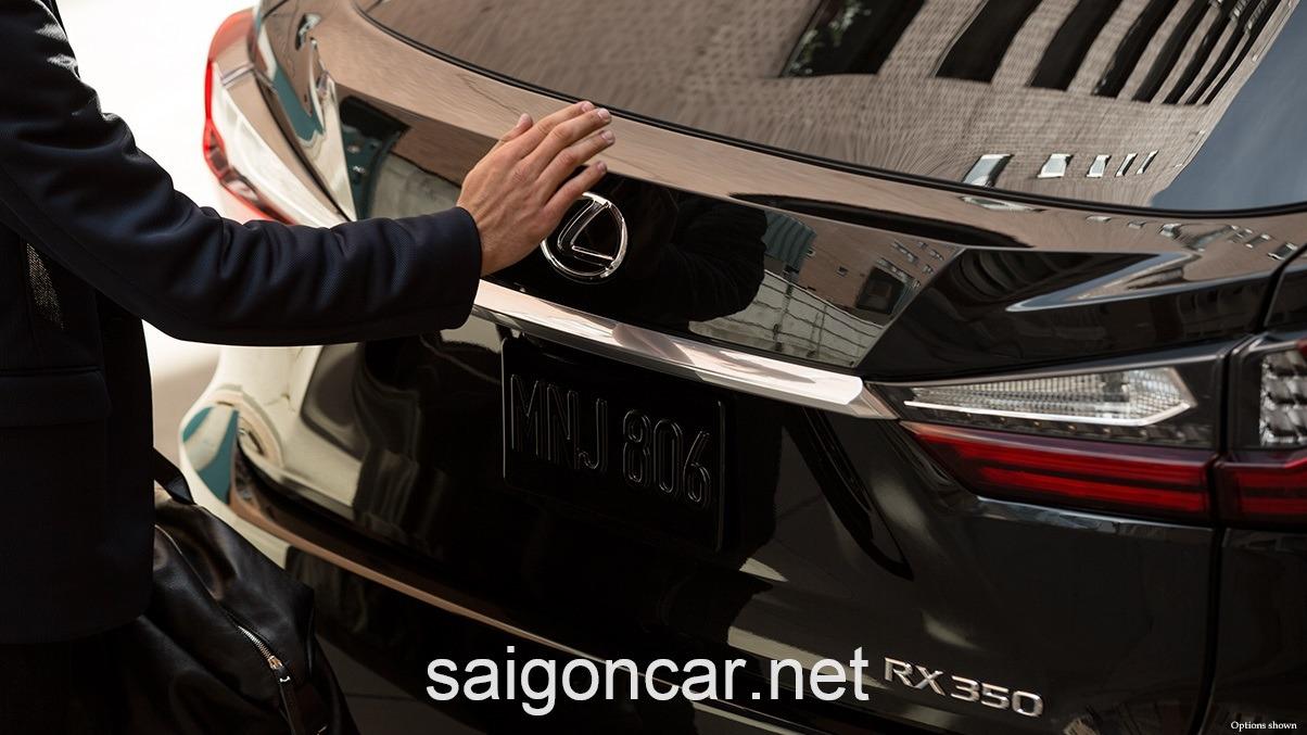 Lexus RX 350 Duoi Xe