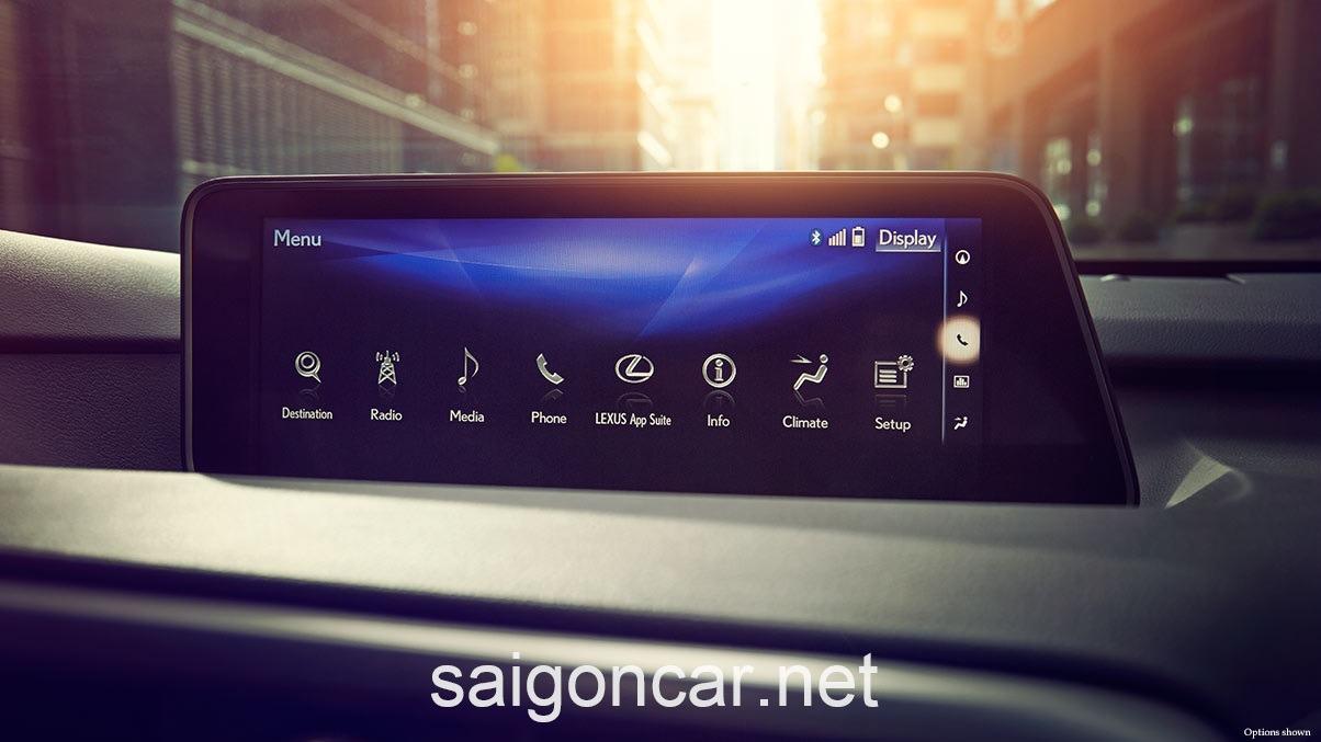 Lexus RX 350 Man Hinh