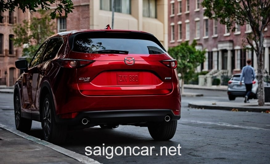 Mazda CX5 Duoi Xe 2