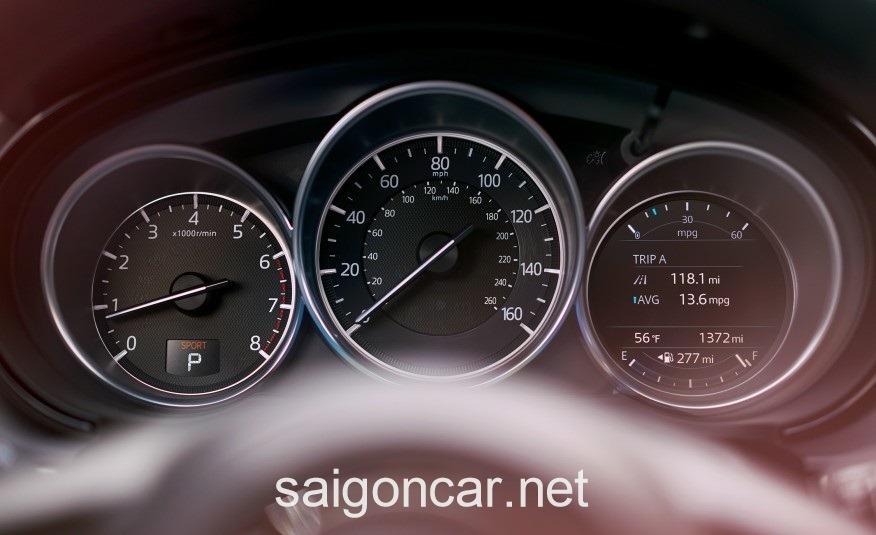 Mazda CX9 Dong Ho
