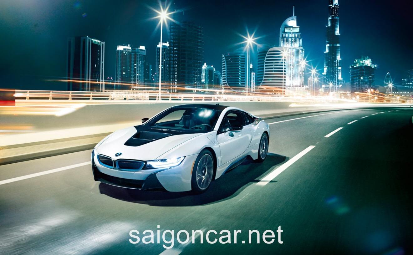 BMW i8 Tong Quan