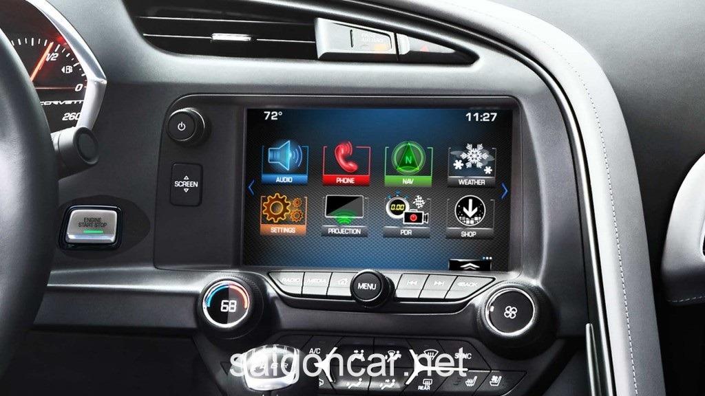 Chevrolet Corvette Man Hình AVN