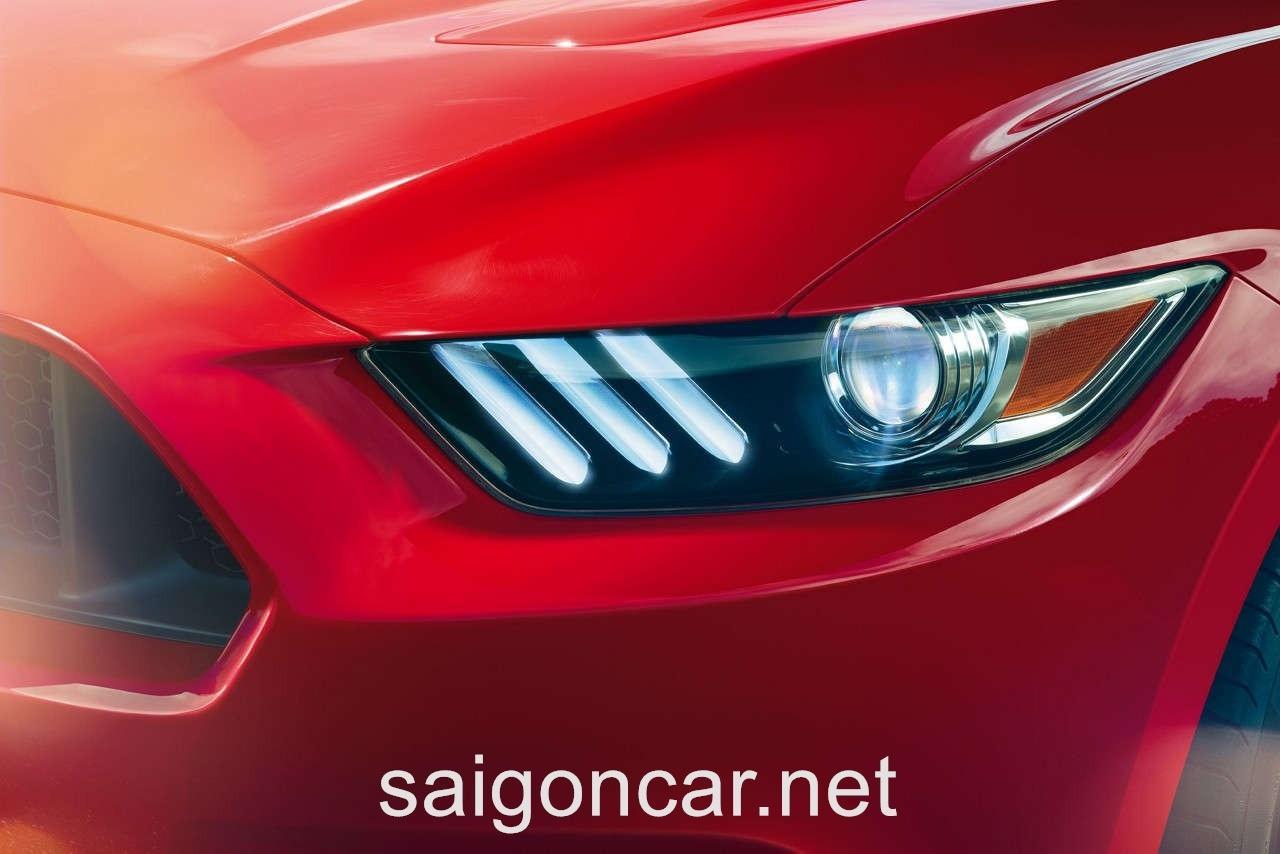 Ford Mustang Den Xe