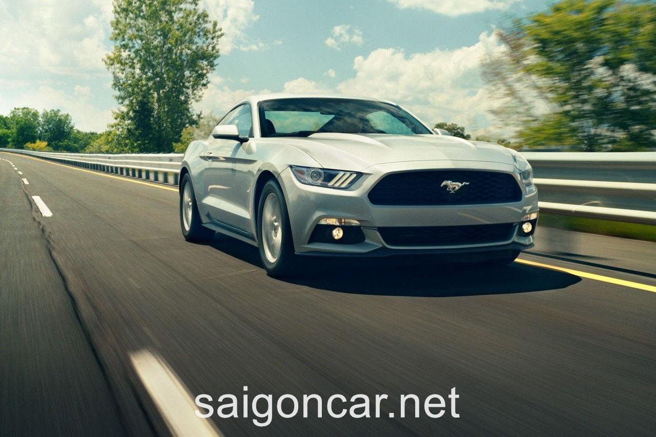 Ford Mustang Dong Co Trang
