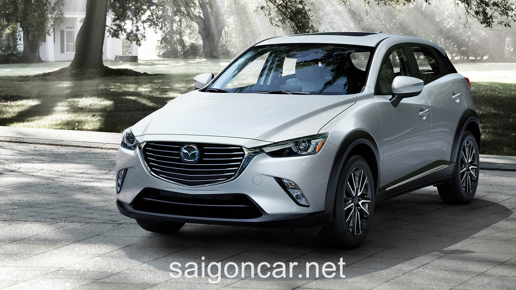 Mazda CX3 Dau Trang