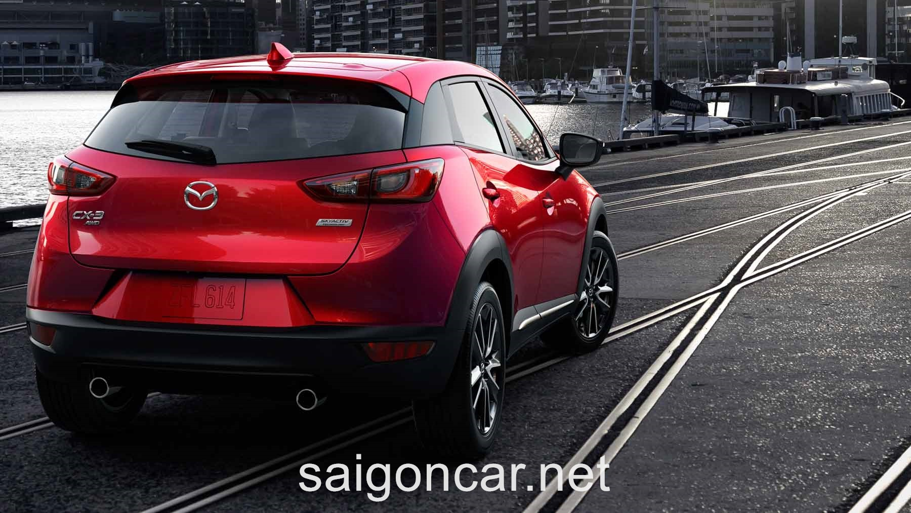 Mazda CX3 Dong Co