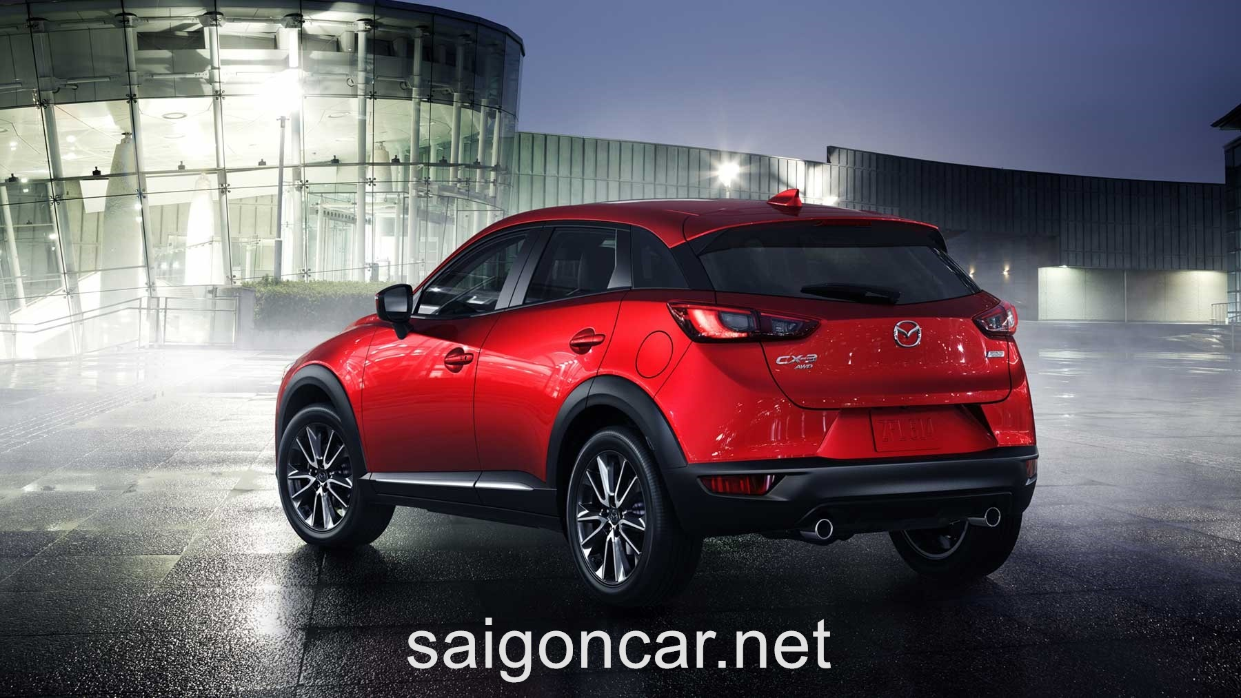 Mazda CX3 Duoi Do