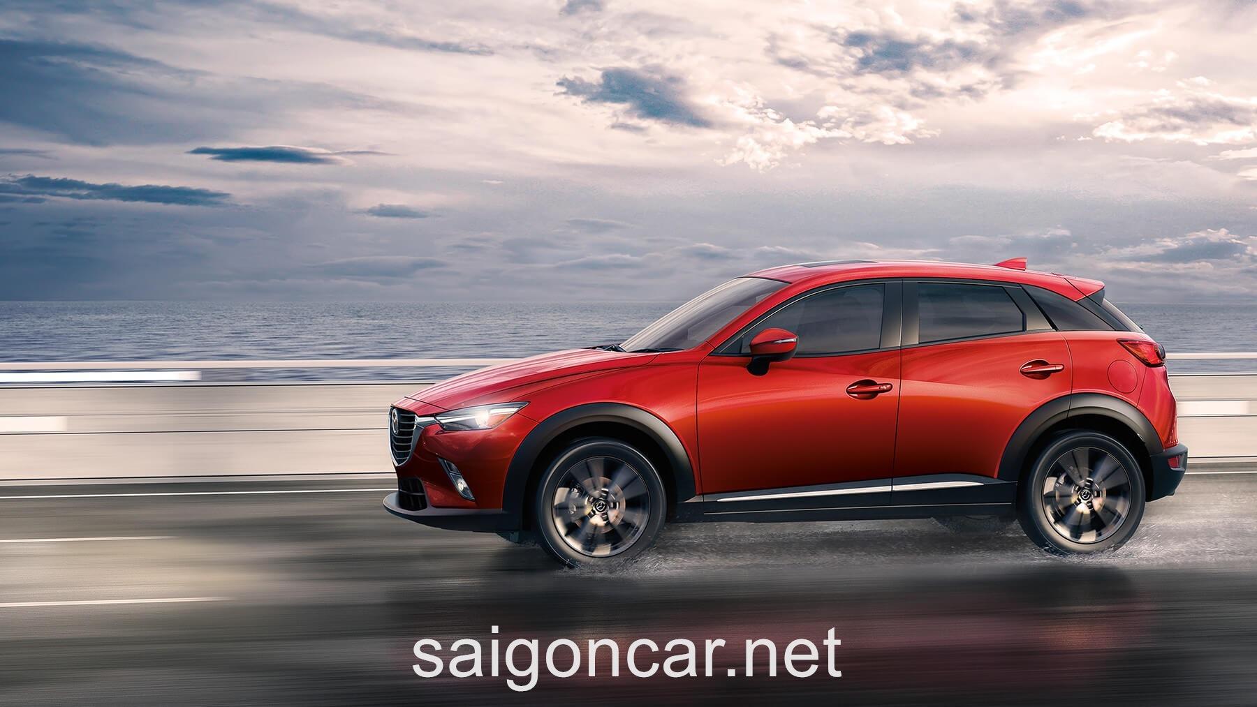Mazda CX3 Hong Xe