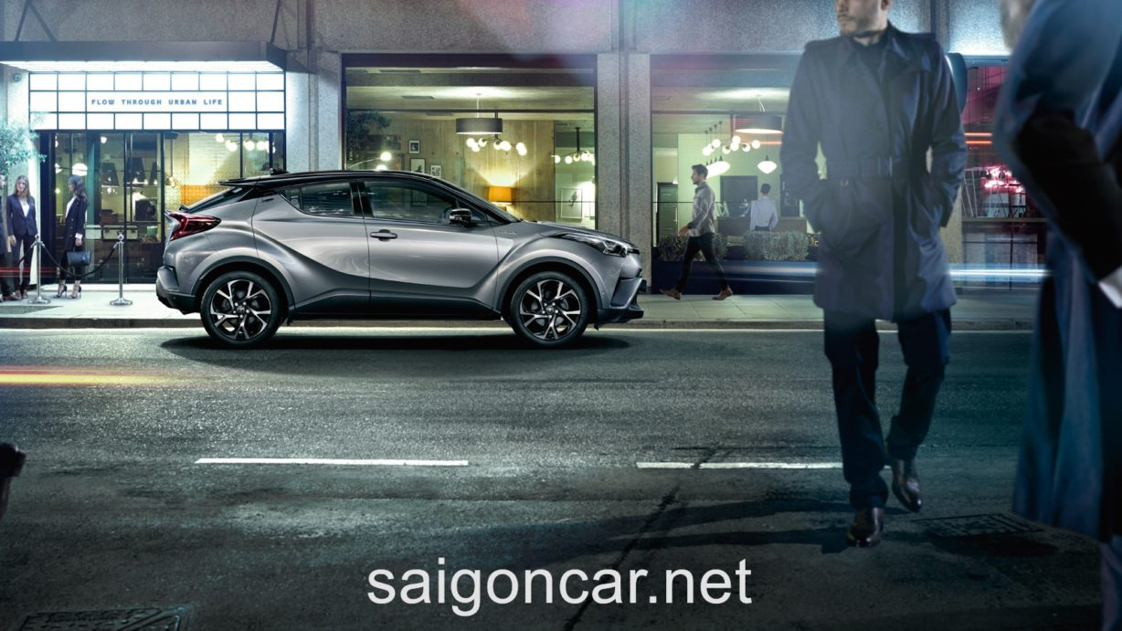 Toyota C-HR Hong Bac