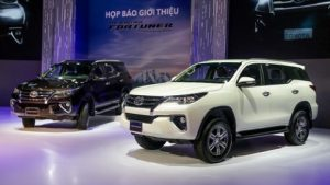 Gia xe Toyota Fortuner 2017
