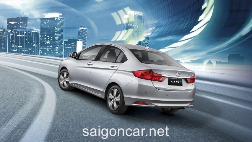 Honda City Duoi Trang