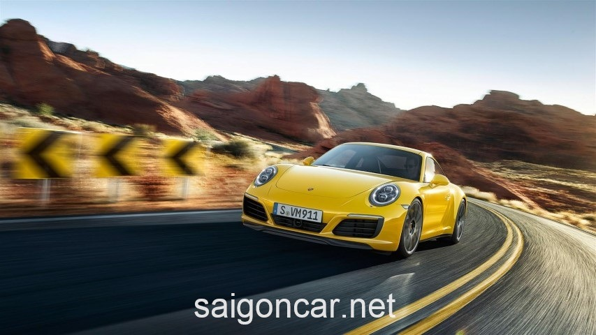 Porsche 911 Dau Vang