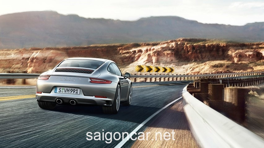 Porsche 911 Dong Co Xam