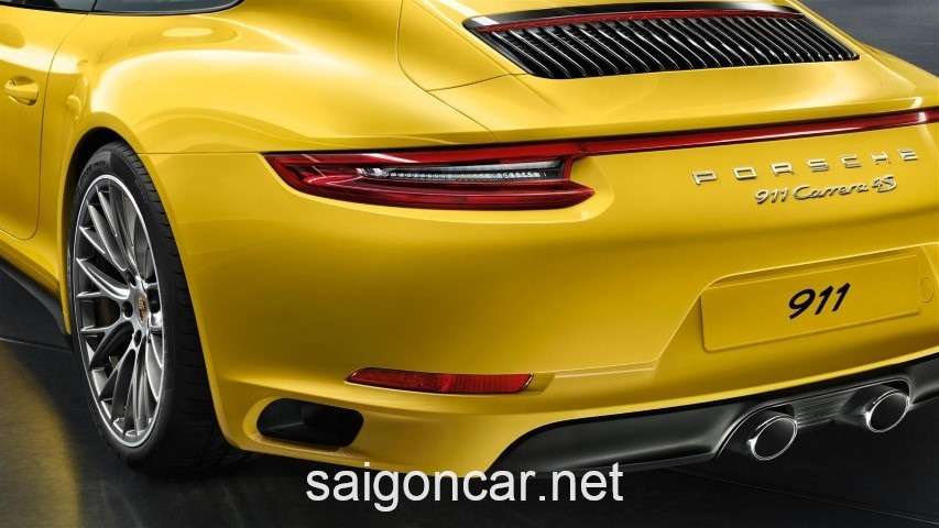 Porsche 911 Duoi Xe