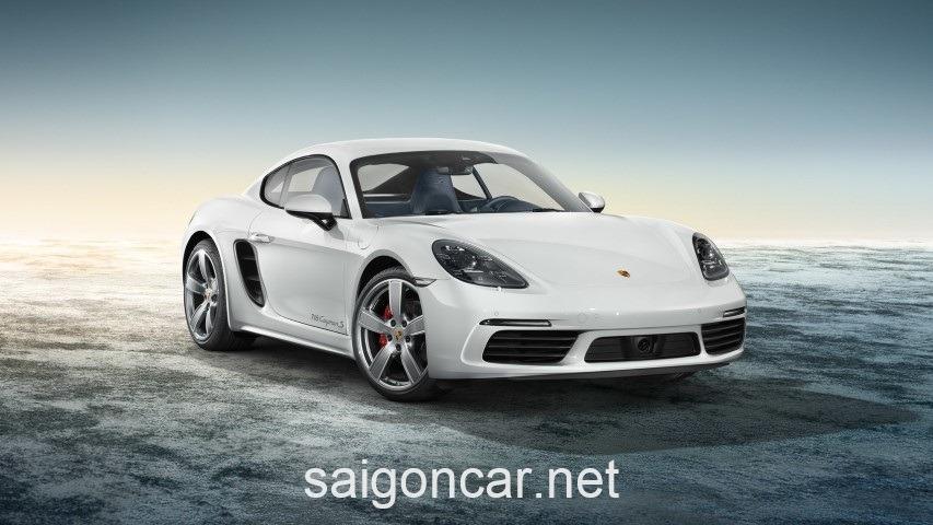 Porsche Cayman 718 S Dau Trang