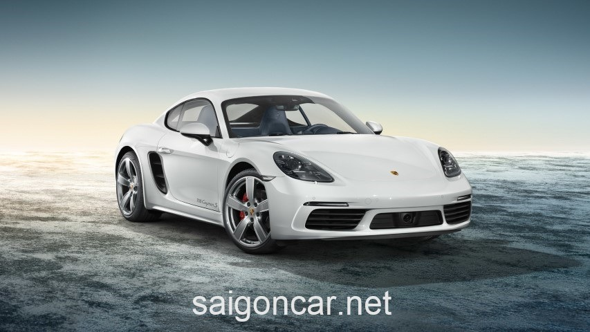 Porsche Cayman Dau Trang