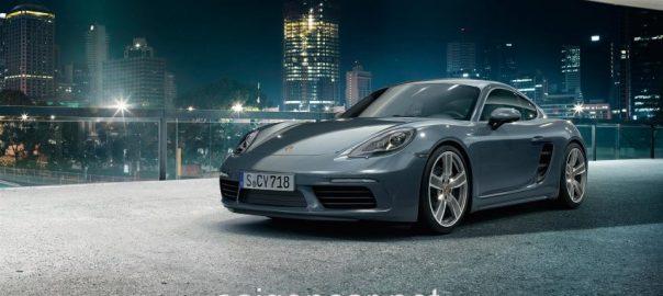 Porsche Cayman Dau Xam