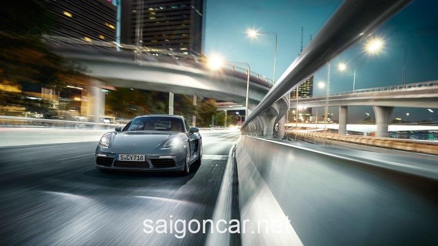 Porsche Cayman Dau Xe