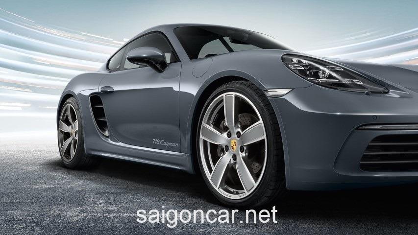 Porsche Cayman Hong Bac
