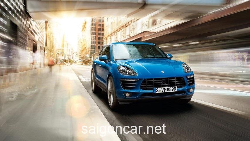 Porsche Macan Dau Xanh