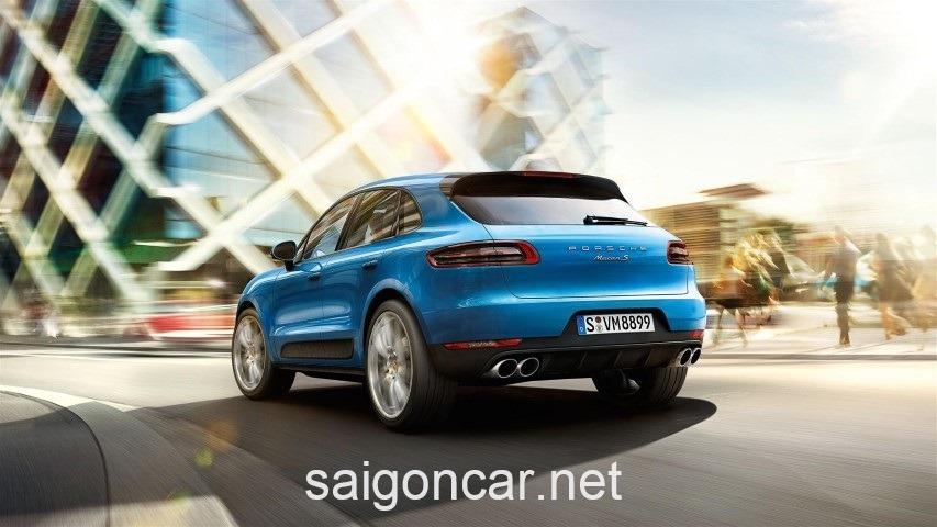 Porsche Macan Duoi Xanh