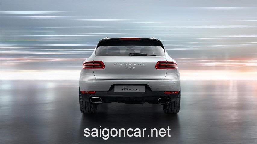 Porsche Macan Duoi Xe