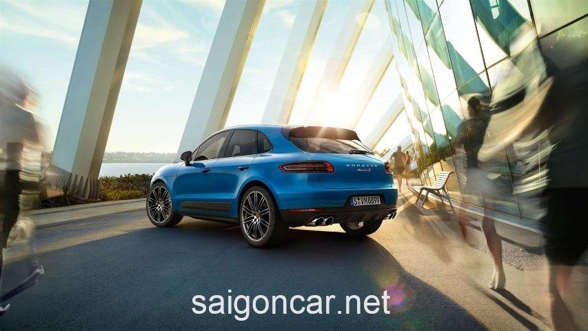Porsche Macan Hong Xanh