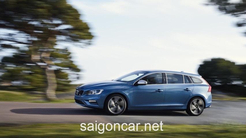 Volvo V60 Hong Xanh
