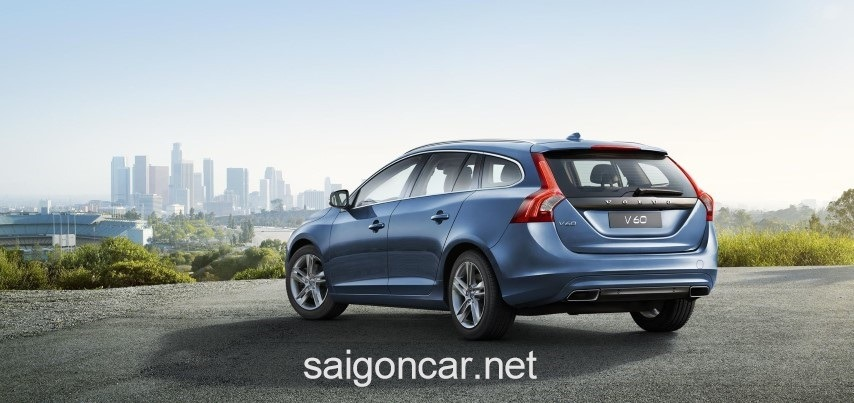 Volvo V60 Hong Xe