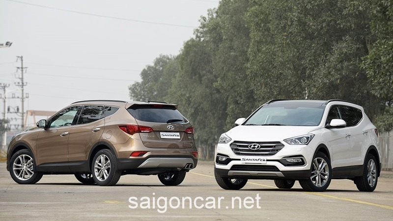 Hyundai Santafe Tong Quan