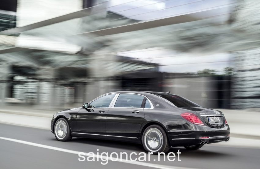 Mercedes Maybach S 600 Dong Co 1
