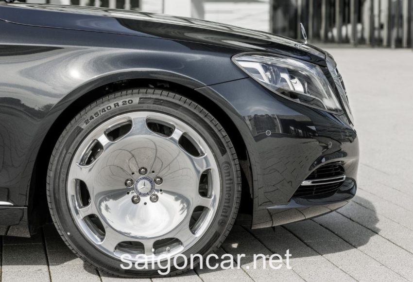 Maybach S 600 La Zang