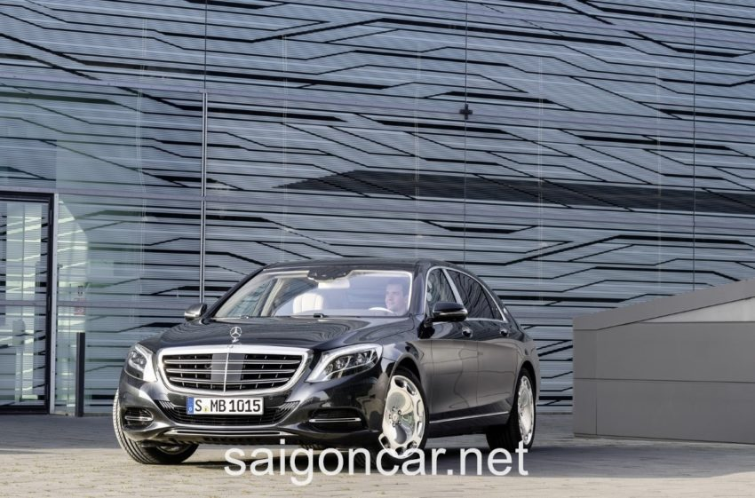 Maybach S 600 Luoi Tan Nhiet