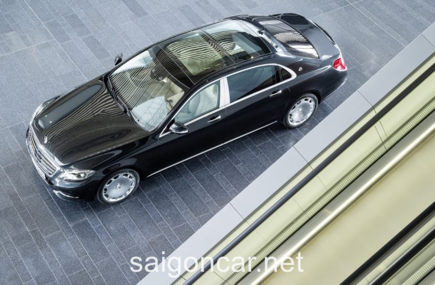 Maybach S 600 Noc Xe