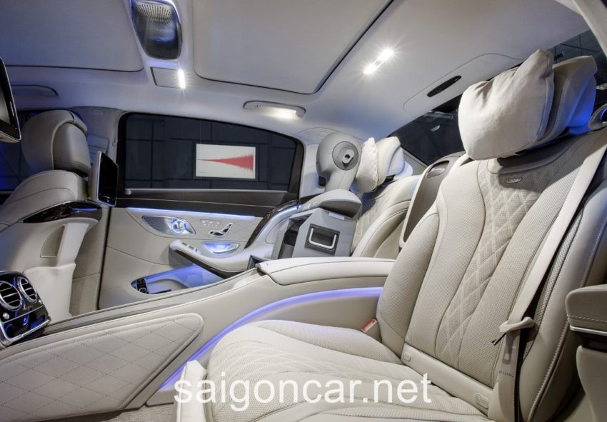 Maybach S 600 Noi That